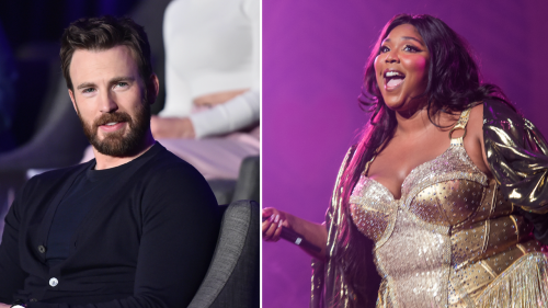Chris Evans Had the Best Response to Lizzo's Joke About Being Pregnant With Their Baby