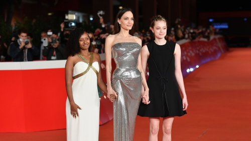 Angelina Jolie Lent a Dior Dress She Wore in 2019 to Daughter Shiloh for a Red Carpet