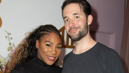Alexis Ohanian's T-Shirt Just Shut Down All of Serena Williams's Sexist Haters