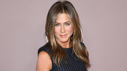 Jennifer Aniston's Iconic Sandy-Colored Hair Is Bright Blond Now