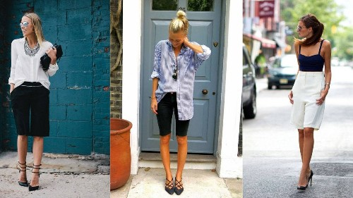 13 Ways to Wear Long Shorts and Still Look Stylish