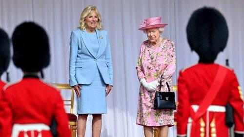 Jill Biden Thanks Queen Elizabeth for a 'Warm Welcome' to Windsor Castle