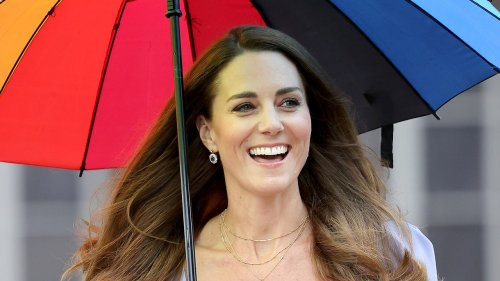 Kate Middleton Just Wore Another Necklace That Honors Her Three Children