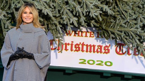 Melania Trump Is Getting Roasted on Twitter Over the White House Christmas Tree
