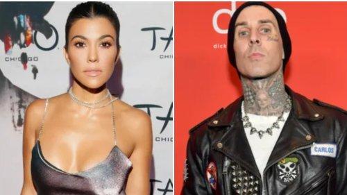 Kourtney Kardashian Just Tattooed 'I Love You' on Boyfriend Travis Barker's Arm