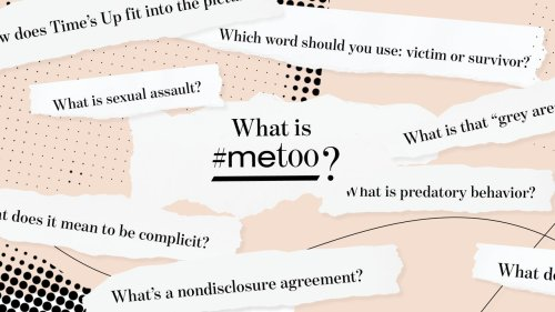 What Is Sexual Harassment? A Glossary of the #MeToo Movement