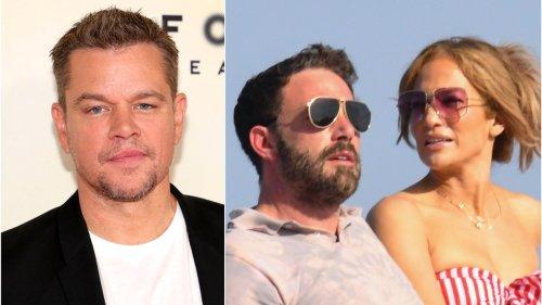 Matt Damon Calls Jennifer Lopez and Ben Affleck's Relationship 'True Love'