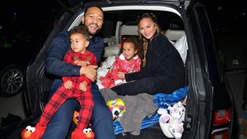 Chrissy Teigen Has a Hilarious Reason for Posting More Pics of Luna Than Miles