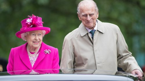 The Royal Family Photog Shared His Fave Pic of Elizabeth and Philip, and They Look So Happy