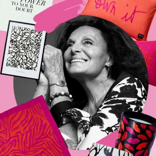 H&M Home x Diane von Fürstenberg: Neue Design-Kooperation