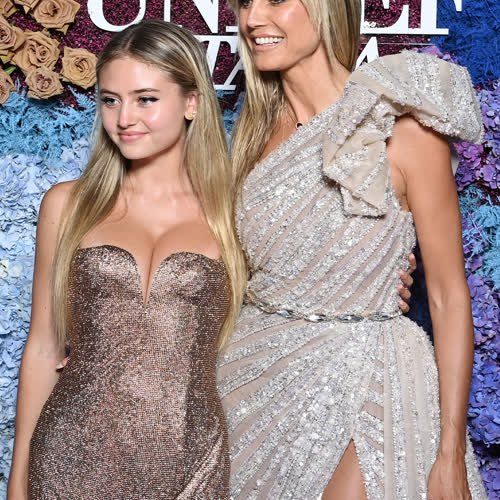 Heidi und Leni Klum: So ähnlich sehen sich Mutter und Tochter auf dem roten Teppich!