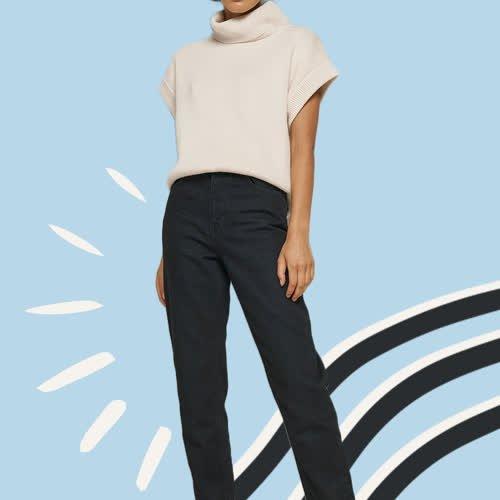 Perfekte schwarze Jeans: Dieses Denim-Modell schmeichelt wirklich jeder Figur