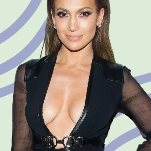 Blonde Blocksträhnen: Jennifer Lopez trägt den coolsten Frisurentrend für den Herbst