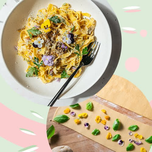 TikTok-Food-Trend: So hübsch ist die gehypte Flower Pasta