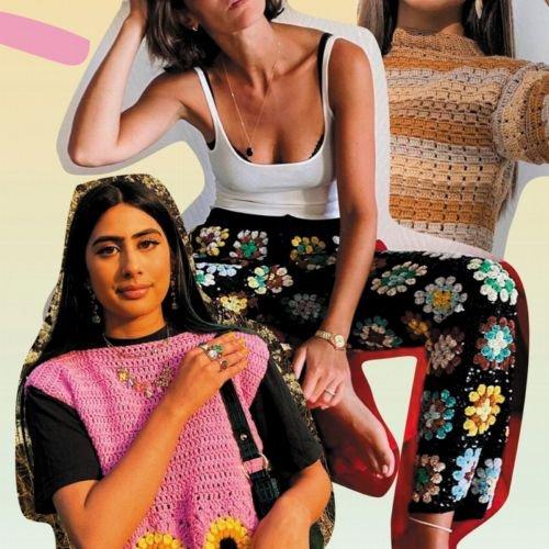 """Crochet: Dieser coole """"Oma""""-Trend wird im Sommer 2021 riesig!"""