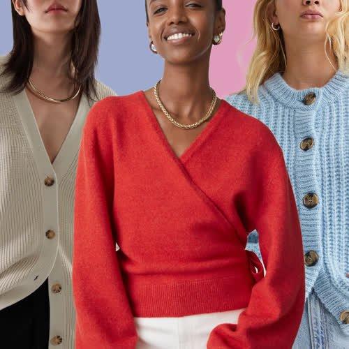 Günstige Cardigans: Diese 9 Strickjacken von H&M, Mango Co. begleiten uns in den Herbst