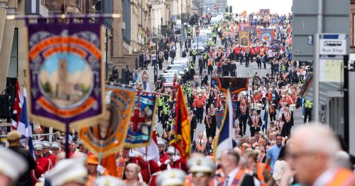 Police condemn 'outbreaks of racist and sectarian singing' at Orange Walks