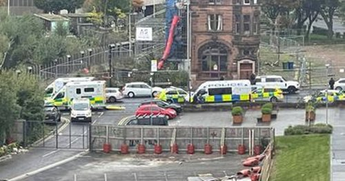 Emergency services rush to city centre street as road shut amid ongoing incident
