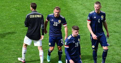 Scotland fans react after Euro 2020 defeat against Czech Republic at Hampden