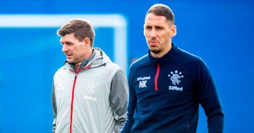 Nikola Katic opens up on Rangers boss Steven Gerrard's support through injury