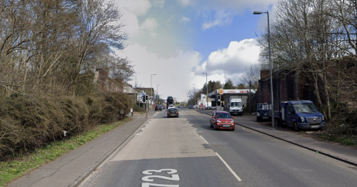 Woman dies after being knocked down by police van in Motherwell