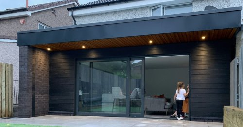 Glasgow architects share photos of stunning transformation of family home