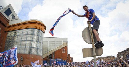 Rangers request for 10k fans at trophy lift rejected by Scottish Government