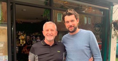 Comedian Jack Whitehall shows up for lunch at Glasgow cafe