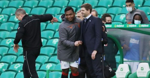 Steven Gerrard opens up on Rangers relationship with Alfredo Morelos