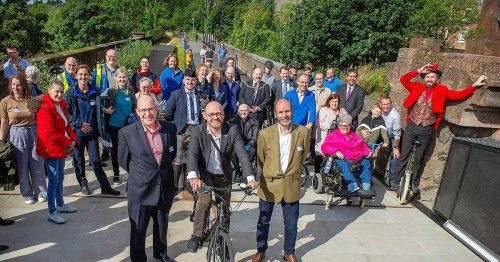 Scotland's £10m answer to New York Highline opens at Bowling Harbour
