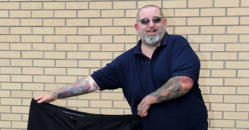 Paisley grandad lost five stone over lockdown after stark covid warning from doctor