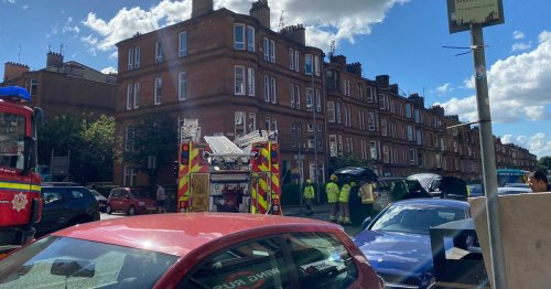 Police lockdown Shawlands as serious accident blocks Minard Road - live