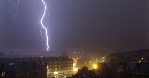 Eight hours of non-stop thunderstorm predicted for Glasgow on Friday