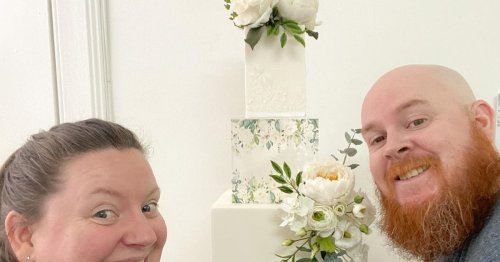 Two Glasgow based wedding cake designers listed in UK's top 50
