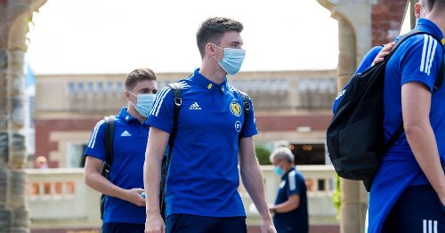 Former Celtic star Kieran Tierney 'fit and available' to face England
