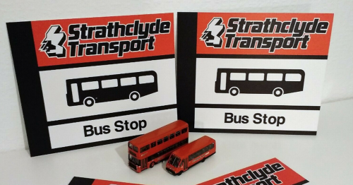 These retro bus stop signs for sale will fill you with 80s and 90s nostalgia