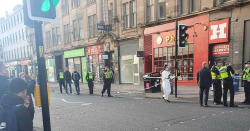 Glasgow Central Station entrance sealed off amid stabbing reports - live updates