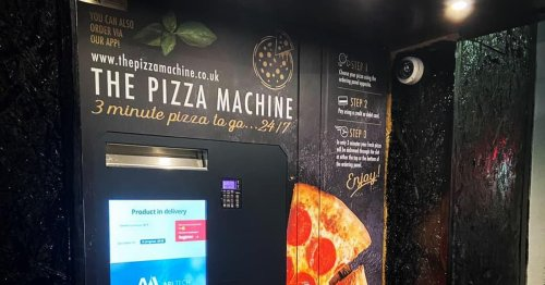 Pizza vending machine facing removal after council denies planning permission