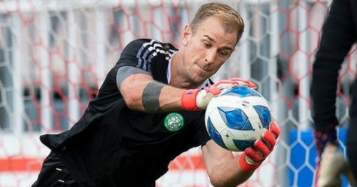 Joe Hart gets to work at Celtic and learns squad number ahead of Jablonec clash