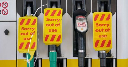 Glasgow petrol stations impose £30 limit after shortage fears spark massive queues across UK