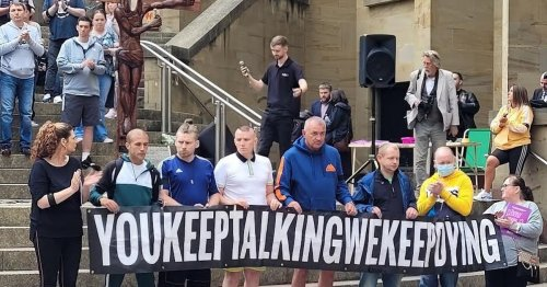Glasgow drug deaths vigil calls for 'right to recovery' for drug addicts