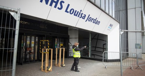 Emergency covid hospital NHS Louisa Jordan to be fully decommissioned today