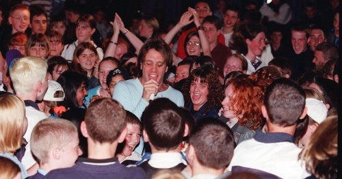 The time a band played a Glasgow school days after Glastonbury's Pyramid Stage