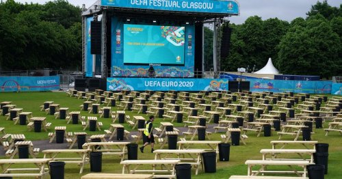 Heatwave evaporates as Scotland gets ready for first Euro 2020 match