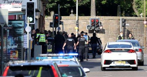 Police break up 'brawling fans' as 'bottles thrown' before Hearts v Celtic match