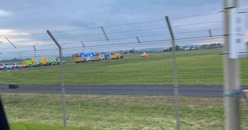 Major response at Glasgow Airport after flight declares mid-air emergency