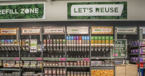 Glasgow Asda store to become first in Scotland to trial new refill section
