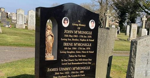 Schoolkids killed in own home given 'headstone they deserve' after fundraiser