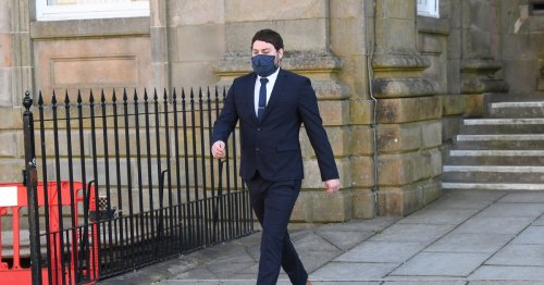 Naked man who stabbed and hung pet dog from door handle of Lanarkshire home avoids jail