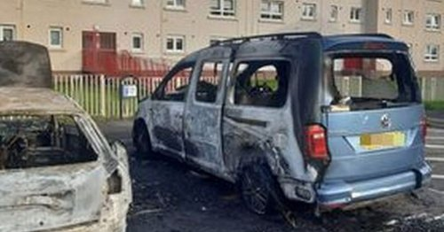 Mum devastated after thugs torch 'lifeline' car she uses to help disabled daughter
